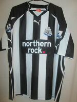 Newcastle United 2010-2011 Home Football Shirt Size Large /22218
