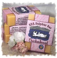 Gardenia _ Checkerboard SPA Sulphur Mineral Soap Made in Montana _ Handmade