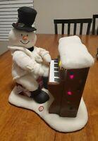 Hallmark Jingle Pals 2005 Piano Playing Snowman  Christmas music no movement