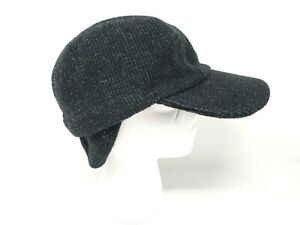 Tilley WINTER CAP, L 7 3/8 - 7 1/2, Grey/Black,, MSRP $79