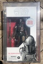 First Edition The Mandalorian Star Wars Black Series AFA 9.0 White Box Mint MIB