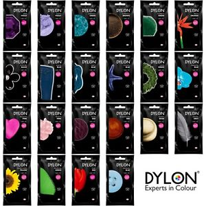 DYLON Hand Dye 50g - Dye for Fabric Clothes Jeans Textile Cotton Wool Silk Linen