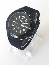 Lacoste Herren Uhr Fidji schwarz weiß Silikon 2010717