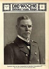 Graf von Spee Kommandant des siegreichen Kreuzergeschwaders (Chile) 1.WK 1914