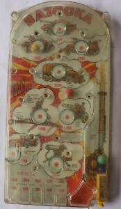 Marx Bazooka Pinball game see notes