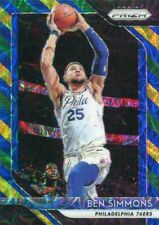 Ben Simmons 2018-19 Panini Prizm Choice Blue Yellow and Green #219