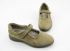 Ballerinas Ecco Spange Slipper Shock Point Echtleder beige Gr. 39