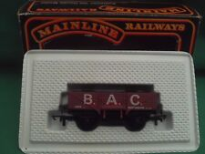 MAINLINE 37456 5-PLANK B.A.C.NOTTINGHAM WAGON WITH LOAD EXCELLENT IN BOX
