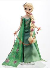 "New Limited Edition Disney Store Doll 17"" Frozen Fever Elsa Doll"