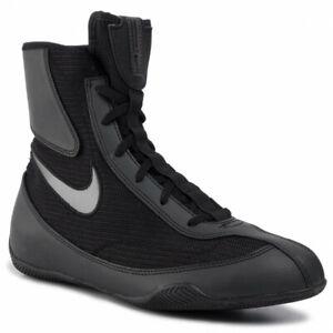 Nike Machomai 2 Boxing Boots Boxen Schuhe Chaussures de Boxe Ring Black/Silver