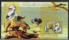 PREHISTOIRE DARWIN Congo 1 bloc de 2006 ** PREHISTORY PRÄHISTORIE DINOSAURE