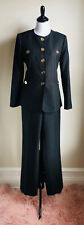 Black Women's Nine West Two Piece Suit With Pant Size 8