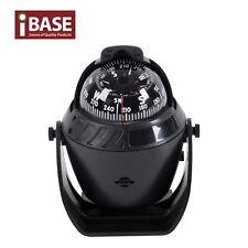 Compass Illuminated 12v LED Caravan Marine Boat Car Trucks Navigation Black L