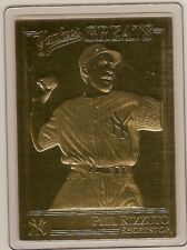 PHIL RIZZUTO 22kt Gold Danbury Mint Card - YANKEES GREATS