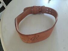 Men's Large weightlifting belt - Bally's premium --- Excellent condition!