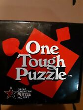 One Tough Puzzle Great American Puzzle Factory 9 Pieces Difficult Challenging