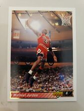 UPPER DECK MICHAEL JORDAN #23 1992-1993 NBA BASKETBALL TRADING CARD CHICAGO BULL