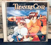 RARE RPG TREASURE GEAR Japan Import Sony PlayStation Retro Role Play Psx Ps1 Vtg