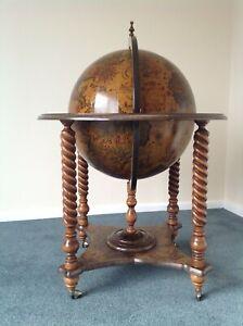 Vintage / Antique Globe Drinks Cabinet