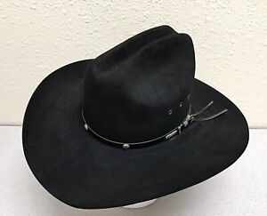 Stetson 4X Beaver XXXX Cowboy Hat, Size 6 AND 7/8 (55)  Made in the USA