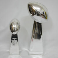 1:1 Full Size 52CM Vince Lombardi Trophy Super Bowl Trophy 20.5 Inches High