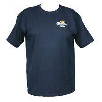New Corona Men's Beer Logo T-Shirt Blue Made Mexico~ choose size S, M, L XL, XXL