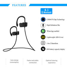 Excelvan Headphone V4.1 Wireless Sport Earphone Headset with Mic for Smartphone