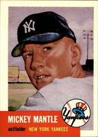 1991 Topps Archives 1953 #82 Mickey Mantle