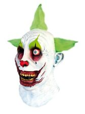 Halloween Mask - Scary Latex Head & Neck Cover - Clown Pennywise Blood Zombie