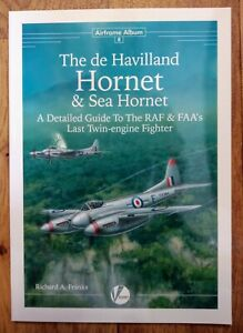 Airframe Album 8: de Havilland Hornet & Sea Hornet, Softback book Valiant Wings
