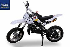 Minimoto Cross 50cc  DIRT white 10 pollici mini moto