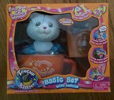 NEW IN BOX Teacup Kitties RARE Set FARRAH Blue Kitten Kitty Cat
