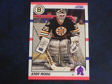 1990-91 90/91 Score #140 Andy Moog Boston Bruins
