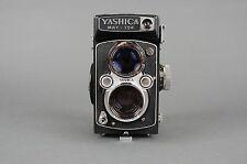 Yashica Mat-124 Medium Format TLR Film Camera w/ 80mm f/3.5 Lens & Leather Case