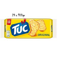 24x TUC Kekse Salzgebäck Cracker Classic 100g Packung 2400 gr biscuits cookies