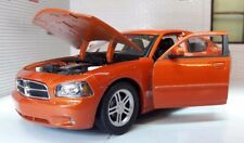 G 1:24 escala Dodge Charger Daytona R/T 2006 NARANJA Welly