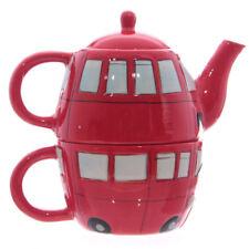 London Teekanne Doppelstockbus mit Tasse Kanne Tee-Set Teetasse Becher Teebecher