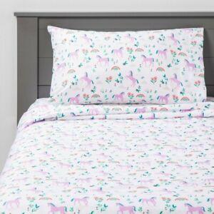 Pillowfort Meadow Magic Sheet Set Purple Full
