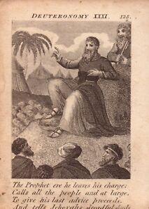 1831 engraving .scripture history -  tells jehovahs dreadful deeds  !