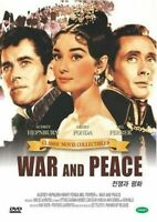 War and Peace 1956 - Audrey New Sealed,Leo Tolstoy UK Compatible Region Free DVD