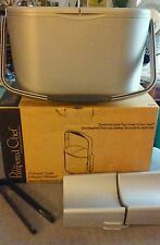 NIB Pampered Chef Chillzanne Cooler/Ice Bucket # 2782 Gray,Two Inserts,Ice Tongs
