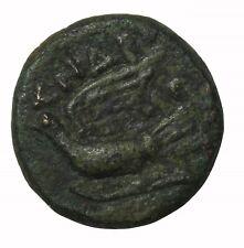 Ancient Greek Siyon Sikyonia 100-60 BC AE Chalkous Anrotimos Magistrate Coin