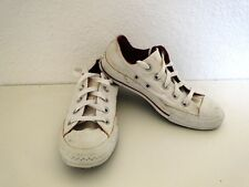 Converse All Star Chucks Sneaker Turnschuhe Slim Low Weiß Lila Gr. 4 / 36,5