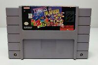 Tetris & Dr. Mario - Super Nintendo SNES, 1994 - Tested, Working & Authentic