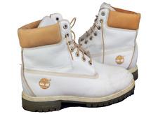 TIMBERLAND 26502 Men's Laced Hi Top BOOT White UK 9 / US 9.5 / EU 43 372 P