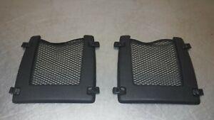 2006 - 2010 HUMMER H3 Front Seat Storage Compartment Net Plastic Black Set of 2