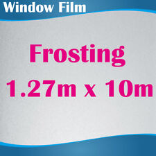 127CM x 10M Privacy Frosted Frost Frosting Window Film Sticker 0.18mm thick