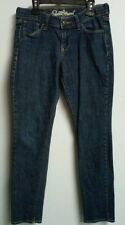 "Old Navy Sweetheart Jeans Size 2 SHORT 28"" inseam dark wash mid rise skinny leg"