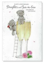 Anniversary Card Daughter and Son-in-law - Special Couple Celebration  Wedding B