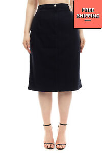 RRP€140 MARINA SPORT By MARINA RINALDI Pencil Skirt Plus Size 25 L Made in Italy
